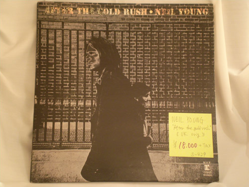 "NEIL YOUNG ""After the Gold Rush"" UK original"