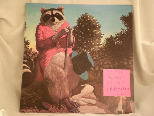 "J.J.CALE ""Naturally"" US original"