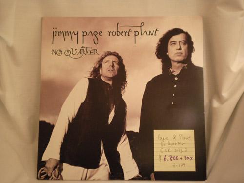 "jimmypage-robertplant-""NO QUATER""-UK original"
