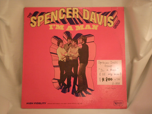 """SPENCER-DAVIS-GROUP-""""I'M-A-MAN""""-US-original-mono"""