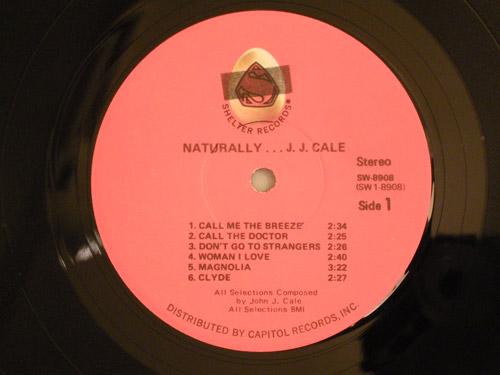 "J.J.CALE-""Naturally""-US-original"