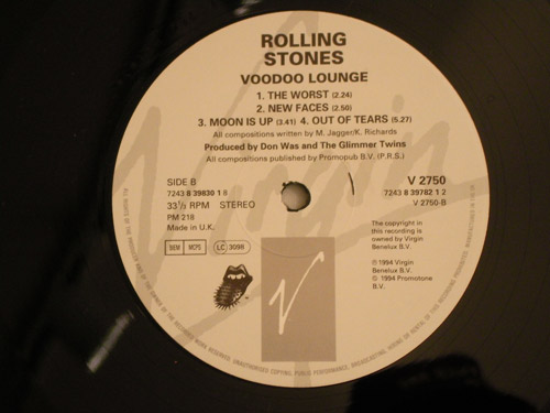 "The-Rolling-Stones-""VOODOO-LOUNGE""-UK-original"