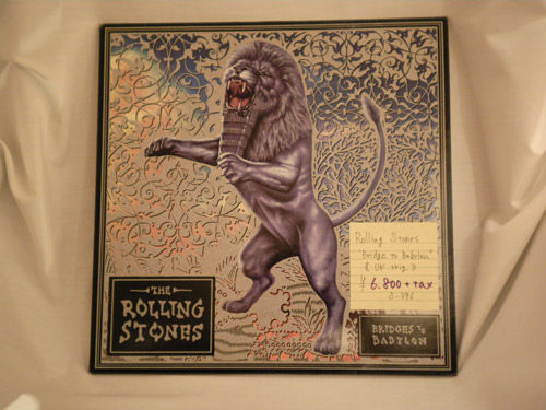 "The-Rolling-Stones-""Bridges-to-Babylon""-UK-original"
