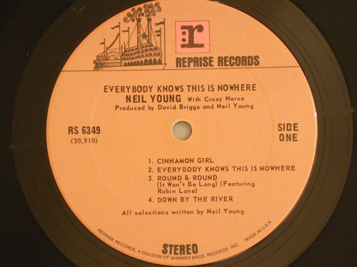 """NEIL-YOUNG-""""Everybody-Knows-This-Is-Nowhere""""-US-original"""
