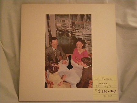"Led-Zeppelin-""PRESENCE""-UK-original"