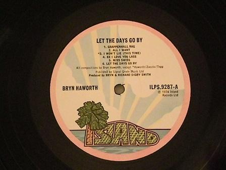 """Bryn-Haworth-""""Let-the-day-go-by""""-UK-original"""