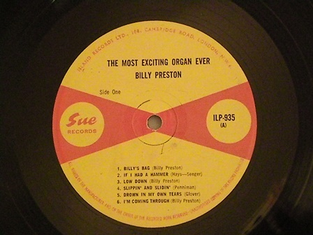 """Billy-Preston-""""The-most-Exciting…""""-UK-SUE-Rare!"""
