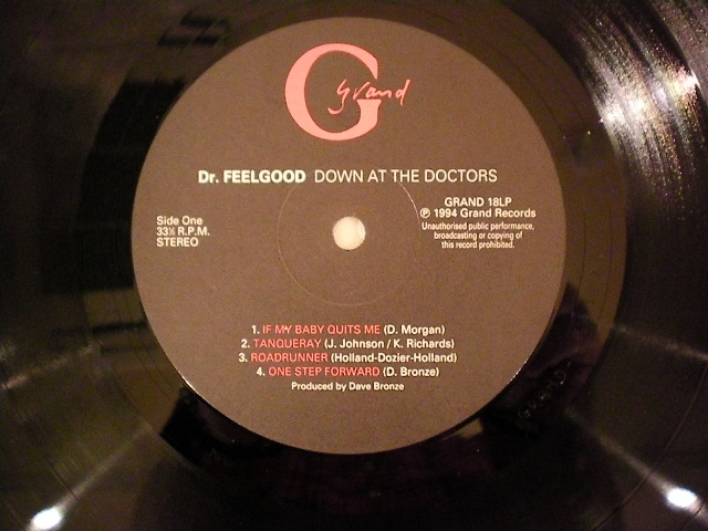"""Dr.Feelgood-""""DOWN-AT-THE-DOCTORS""""-UK-orig"""