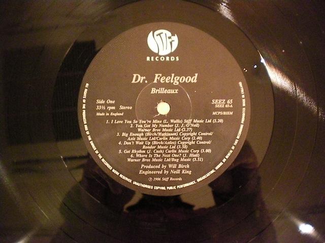"""Dr.Feelgood-""""BRILLEAUX""""-UK-orig"""